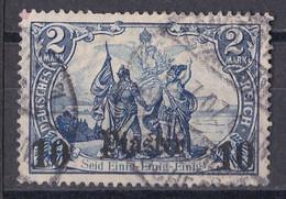 Deutsche Post In Der Türkei 1906  - Mi.Nr. 45 - Gestempelt Used - Ufficio: Turchia
