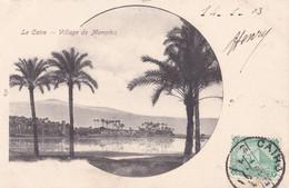 EGYPTE : LE CAIRE :  Vue Du Village De Memphis Ecrite 1903 - Cairo