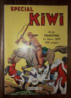 Bd Spécial Kiwi N° 45 LUG Le Petit Trappeur  14/03/1959 - Small Size
