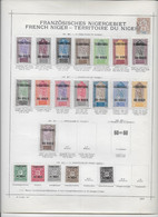 Niger - Collection Vendue Page Par Page - Neufs * - B/TB - Unused Stamps