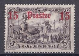 Deutsche Post In Der Türkei 1912  - Mi.Nr. 46 - Ungebraucht Mit Gummi Und Falz MH - Ufficio: Turchia