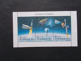 SUEDE / SVERIGE    -  CEPT   Blocs Feuillets  N° 19  -   Année 1991  Neuf XX    ( Voir Photo ) - 1991
