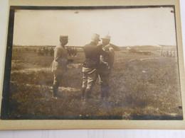 PHOTO ORIGINALE - René Fonck As Des As Général Roques Commandant De Rose Escadrille  Cigognes - 1916 -  SUP  Ph N° 183) - Aviadores