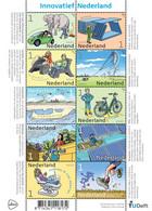 D(A) 290 ++ NEDERLAND NETHERLANDS 2021 SHEET GREEN ENERGY INNOVATIEF GROENE ENERGIE MNH ** - Unused Stamps