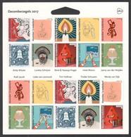 Nederland NVPH 3588-97 V3588-97 Vel Decemberzegels 2017 Postfris MNH Netherlands Christmas - Unused Stamps