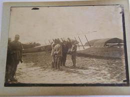 PHOTO ORIGINALE - René Fonck 'As Des As Clémenceau Le Tigre Général Roques Escadrille Cigognes - 1916 -  SUP  Ph N° 185) - Aviadores