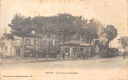 77-MELUN- LE TRAMWAY DE BARBIZON - Melun