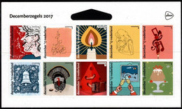 Nederland NVPH 3588-97 Vb3588-97 Vel Van 10 Decemberzegels 2017 Postfris MNH Netherlands Christmas Schaars - Unused Stamps
