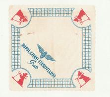 SALVIETTA / Sottobicchiere ORIGINALE - DOPOLAVORO FERROVIARIO - PRATO - Company Logo Napkins