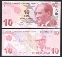 ТУРЦИЯ 10 ЛИР   2020 UNC - Turkey