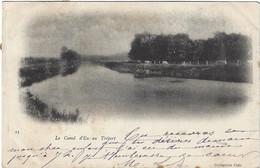 76  Eu  -  Le Canal D'eu Au Treport - Eu