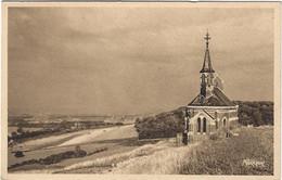 76  Eu  -   La  Vallee Et La Mer Vue De La Chapelle  Saint Laurent - Eu