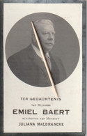 Gent, 1918, Emiel Baert, Malbrancke - Santini