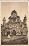 76  Eu  -   La Chapelle Du College Et Le Buste Du Sculpteur  Michel   Anguier - Eu