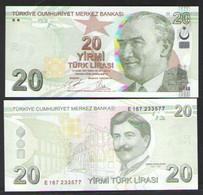 ТУРЦИЯ 20 ЛИР   2020 UNC - Turkey