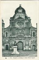 76  Eu  -   La Chapelle Du College Et Statue  Michel   Anguier - Eu