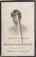 Gent, Sinay, Sinaai, Maria De Sloovere, Claus,1911 - Devotieprenten