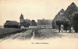 D77 - France - 77 - Barbizon - La Ferme - Les Meules - L'attelage - Plaine De Barbizon - Barbizon
