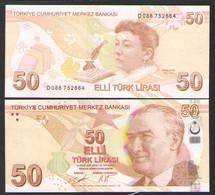 ТУРЦИЯ 50 ЛИР   2020 UNC - Turkey