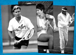 """(Lot De 3) PHOTO Photographie De MODE Sportive """"Golden-Cup"""" Sport Tennis - Sports"""