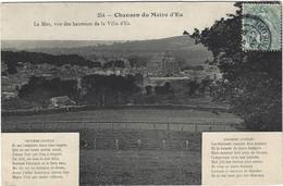 76  Eu  - Chanson Du Maire D'eu - La Mer Vue Des Hauteurs De La Ville D'eu - Eu