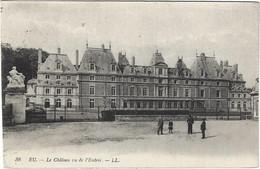 76  Eu  -  Le Chateau Vu De L'entree - Eu