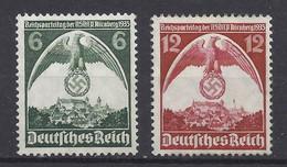 Deutsches Reich 586/587 ** - Unused Stamps