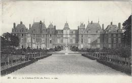 76  Eu  -  Le Chateau D'eu  Cote Du Parc - Eu