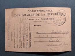 CORRESPONDANCE DES ARMEES DE LA REPUBLIQUE 1 ER REGIMENT DE MARCHE D'AFRIQUE SECTION PD JOUSSET - Other