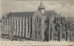 76  Eu  - Collegiale Notre Dame - Vue D'ensemble  Cote Sud - Eu