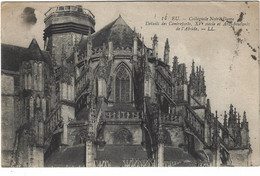 76  Eu  - Collegiale Notre Dame -  Detail Des Contreforts - Eu