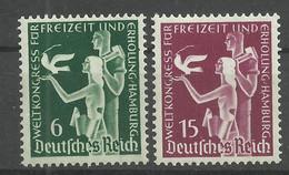 Deutsches Reich 622/623 ** - Unused Stamps