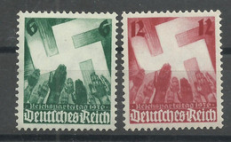 Deutsches Reich 632/633 ** - Unused Stamps