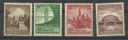 Deutsches Reich 665/668 ** - Unused Stamps