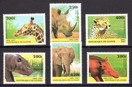 Guinea 1997 Wild Animals Fauna Animaux Sauvages MNH  -(a-21) - Other