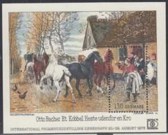 DÄNEMARK  Block 3, Postfrisch **, Internationale Briefmarkenausstellung HAFNIA '76, Kopenhagen 1976 - Blokken & Velletjes