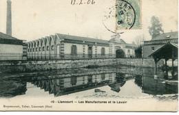 LIANCOURT - LES MANUFACTURES Et Le LAVOIR - - Liancourt