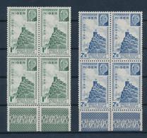 NIGER - N°93/94 EN BLOC DE 4 AVEC BORDS DE FEUILLE NEUFS** SANS CHARNIERE - Unused Stamps