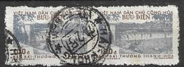 North Vietnam VFU Circulated Pair In 1957 16 Euros+ Perf 11,5 - Vietnam