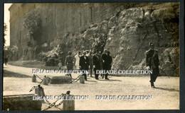 FOTO CARTOLINA S.A.R. IL PRINCIPE DI UDINE VISITA LA FOSSA DEL BUON CONSIGLIO 20 SETTEMBRE ANNO 1918 - Trento