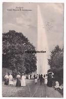 Hannover, Grosse Fontäne In Herrenhausen, Alte Postkarte 1908 - Hannover