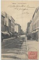 D 42. ROANNE.  FAUBOURG CLERMONT  AN 1904. - Roanne