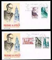 España - Edi O 1996/2000 - 2 Sobres Primer Día - FDC