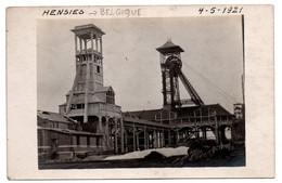 Belgique - Hensies - Puits De Mines - Carte Photo - RARE  - CPA°gk - Other