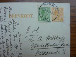 1919   BREVKORT  KOPENHAGEN  PERFECT - Brieven En Documenten