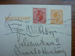 1917   BREVKORT    PERFECT - Brieven En Documenten