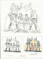 LES TUNIQUES BLEUES ( LAMBIL) - Illustratoren J - L