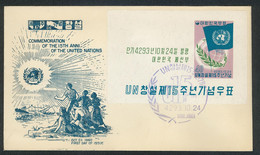 Korea, First Day Cover Used, - Korea, South