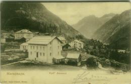 MACUGNAGA ( VERBANIA ) VALL'ANZASCA - EDIZIONE GRISONI - SPEDITA 1903 ( 7860 ) - Verbania