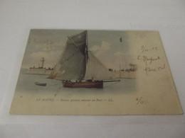 Le Havre Bateaux De Pécheur Entrant Au Port - Port